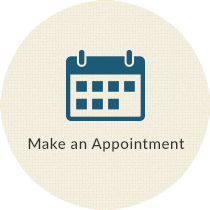 Make an appointment with calendar icon